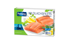 MSC Wild salmon fillets